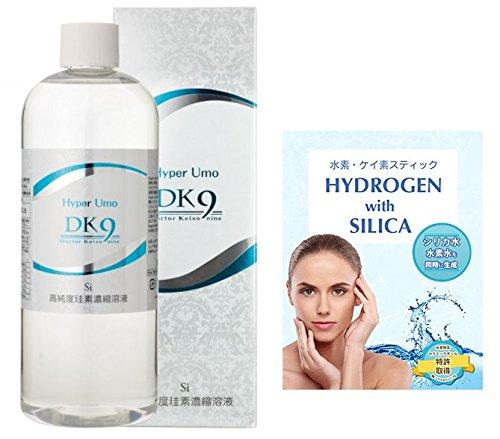 HyperUmo DK9 高濃度珪素濃縮溶液 水素珪素スティック付 ペット 500ml