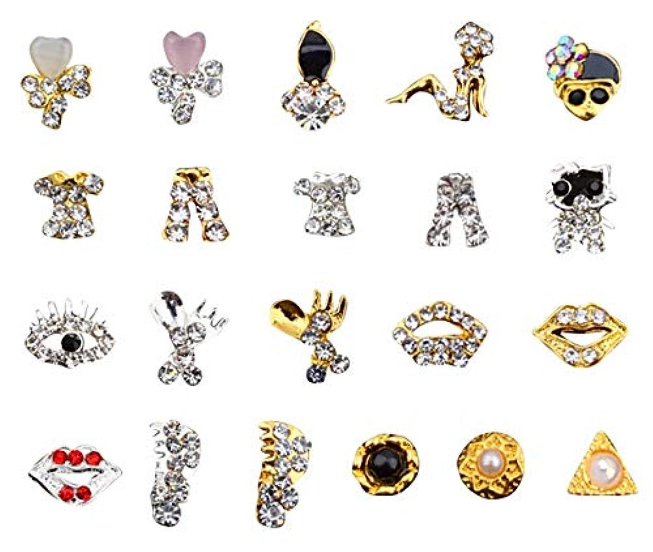 自分の始めるデコードするKerwinner ネイルアートの装飾用品のためのラインストーン宝石ストーンズネイル