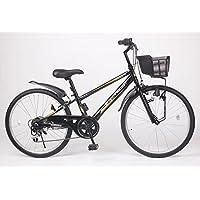 21Technology 24インチ 子供用マウンテンバイク kd246 6段ギア付き