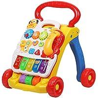 ベビーウォーカー 手押し車 よちよちベビーウォーカー 歩く練習 音楽 赤ちゃん?幼児のおもちゃ