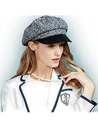 ミックスツイードハンチング帽 ベレー帽 トーク帽