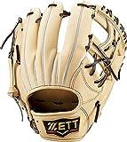 ゼット(ZETT) 軟式野球 グラブ(グローブ) プロステイタス セカンド・ショート用 右投げ用 パステルブラウン×ブラウン(3237) サイズ:1 BRGB30110