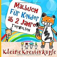 Malbuch fuer Kinder ab 2 Jahre: Geschenk fuer Maedchen und Junge,  Kritzelbuch und Malblock fuer kleine Kreativkoepfe