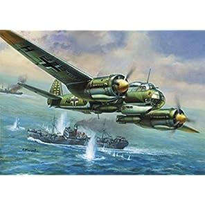 ズベズダ 1/72 ドイツ軍 ユンカース Ju-88 A4 爆撃機 プラモデル ZV7282