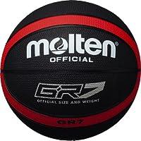 molten(モルテン)GR7 ゴムバスケットボール 7号球 ブラック×レッド BGR7KR ブラック×レッド