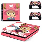 Tony Tony Chopper-Designer Skin for Sony PlayStation 4 Console System plus Two(2) Decals for: PS4 Dualshock Controller by Bestlovelin [並行輸入品]