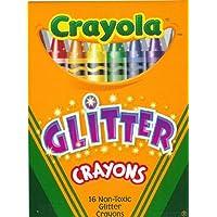 Crayola Multi Glitter Crayons (16-Count) (6-Pack) (並行輸入品)