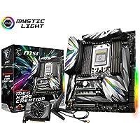 MSI MEG X399 CREATION E-ATX マザーボード[Ryzen Threadripper対応] MB4559