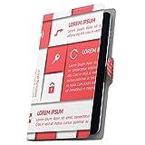 タブレット 手帳型 タブレットケース タブレットカバー 全機種対応有り カバー レザー ケース 手帳タイプ フリップ ダイアリー 二つ折り 革 英語 文字 ピンク 003518 Fire HDX Amazon アマゾン Kindle Fire キンドルファ