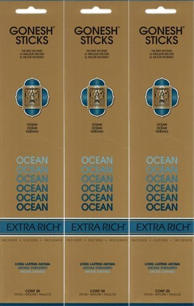 絡まる合意メンバーGONESH ガーネッシュ OCEAN オーシャン 20本入り X 3パック(60本)