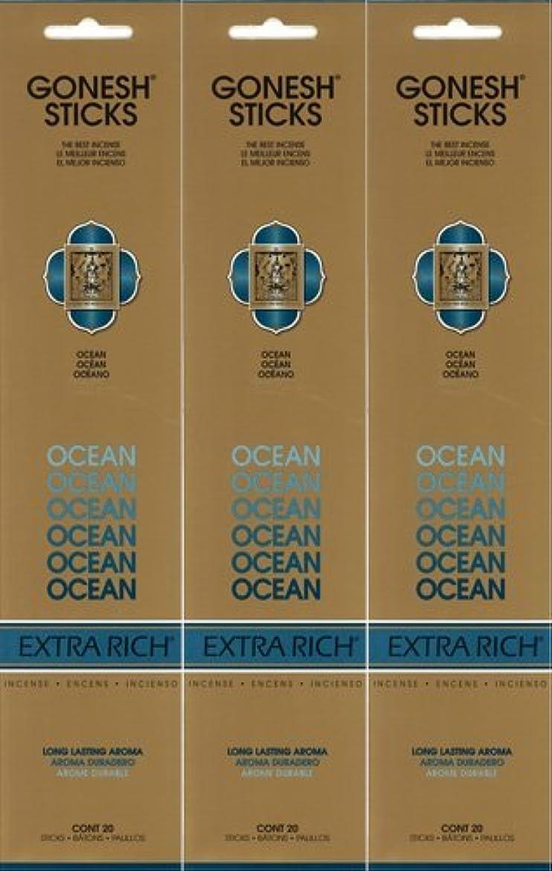近代化するハブブスイングGONESH ガーネッシュ OCEAN オーシャン 20本入り X 3パック(60本)
