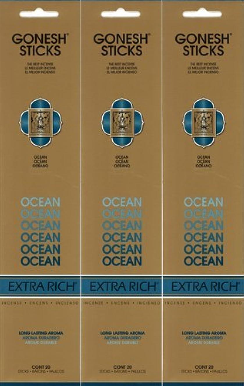 協会予測インゲンGONESH ガーネッシュ OCEAN オーシャン 20本入り X 3パック(60本)