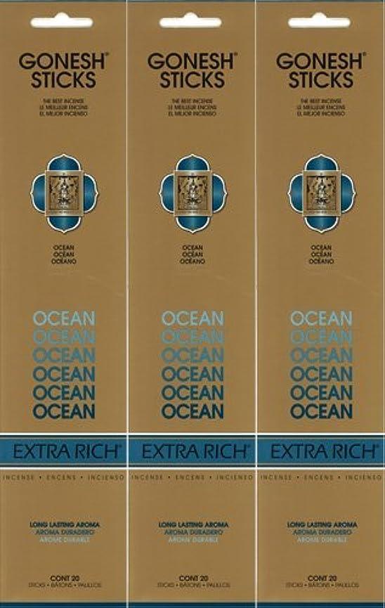 定刻近所の実り多いGONESH ガーネッシュ OCEAN オーシャン 20本入り X 3パック(60本)
