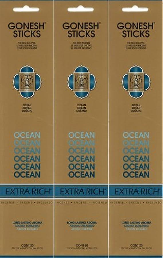 範囲同情工夫するGONESH ガーネッシュ OCEAN オーシャン 20本入り X 3パック(60本)