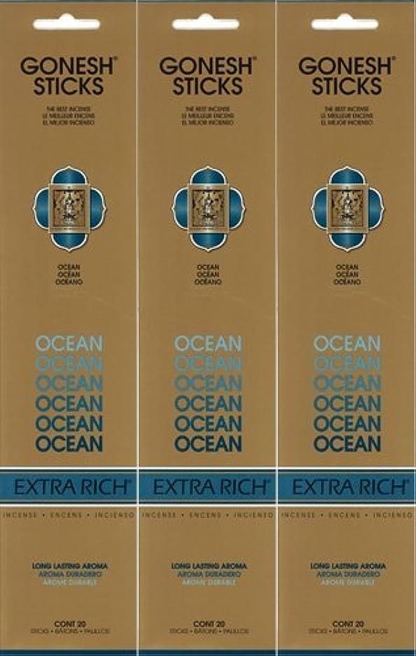 複合ガイドラインクライアントGONESH ガーネッシュ OCEAN オーシャン 20本入り X 3パック(60本)