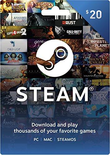 Steam Gift Card $20 (輸入版:北米)