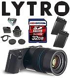 Lytro ILLUMライトフィールドデジタルカメラバンドルW / 32GB、Lytroバッテリー