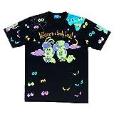 ディズニー ハロウィーン ハロウィン 2018 ランド (ゴースト流) Tシャツ ( 3L ) ミッキー ミニー 他 おばけ 洋服 服 ウェア ランド限定