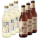 【 湘南ゴールドビール&サイダーセット 】 神奈川産のオレンジを使用したビールとジュースのセット (ビール3本、サイダー3本)