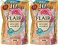 【セット販売】フレアフレグランス 柔軟剤 ジェントル&ブーケの香り 詰替用 超特大 10%増量 1320ml 2個