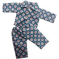 HuaQingPiJu-JP 18インチアメリカンガールドールのためのかわいいミニパジャマ