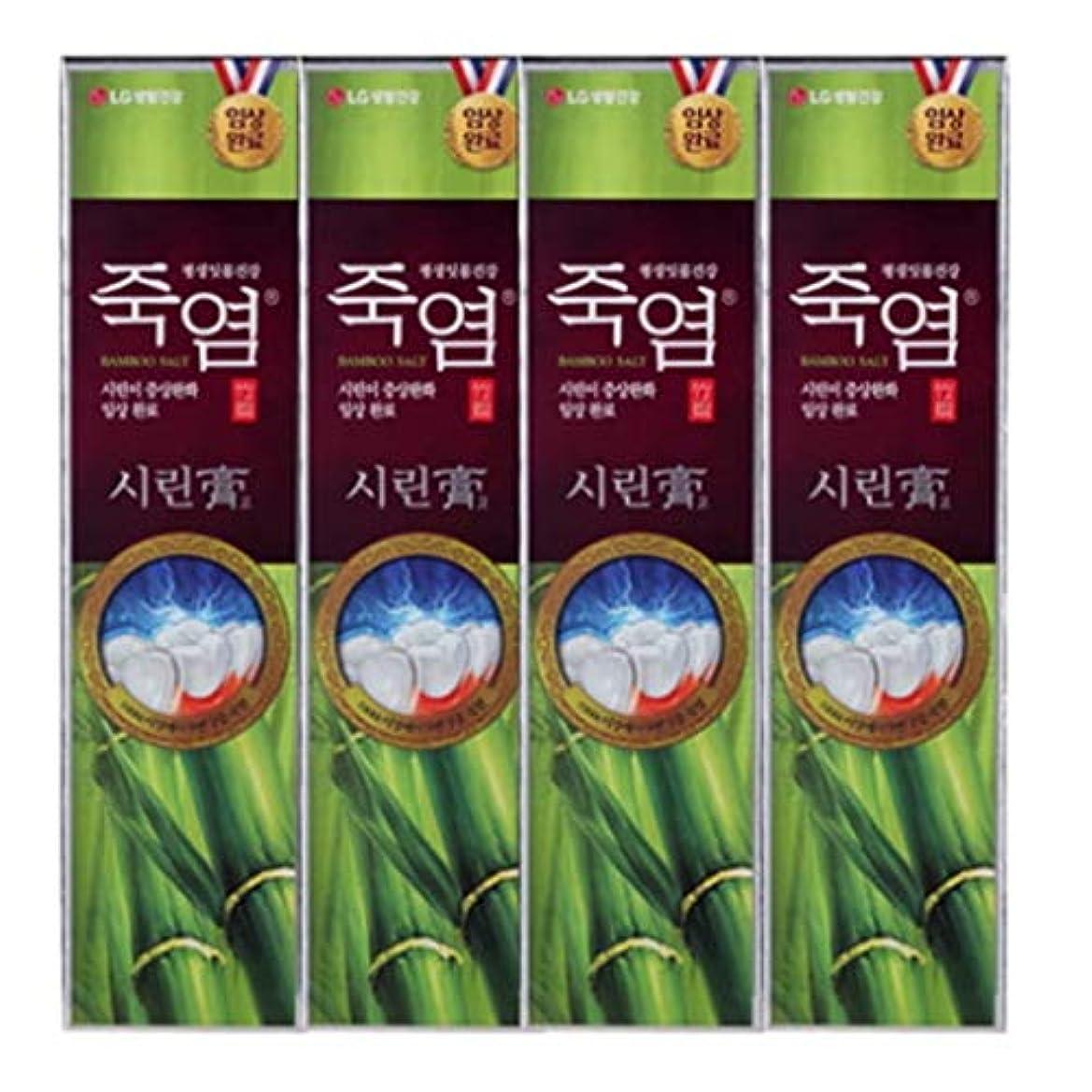 高い特徴づける深める[LG Care/LG生活健康]竹塩歯磨き粉つぶれて歯茎を健康に120g x4ea/歯磨きセットスペシャル?リミテッドToothpaste Set Special Limited Korea(海外直送品)