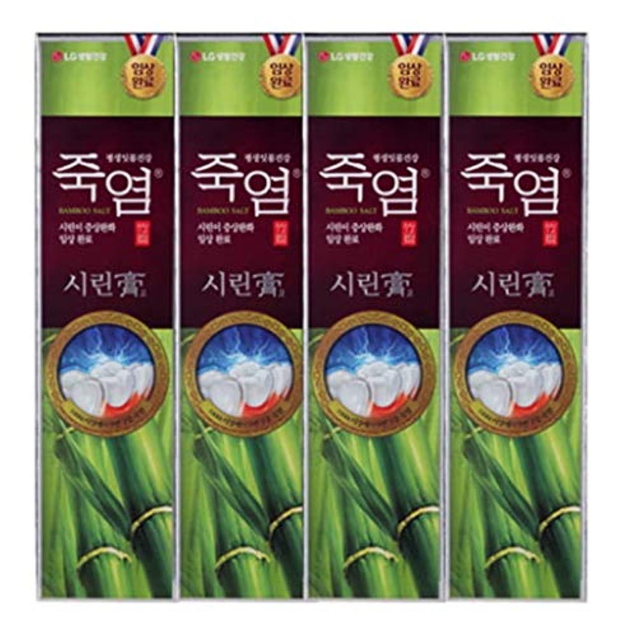 風味無心横[LG Care/LG生活健康]竹塩歯磨き粉つぶれて歯茎を健康に120g x4ea/歯磨きセットスペシャル?リミテッドToothpaste Set Special Limited Korea(海外直送品)