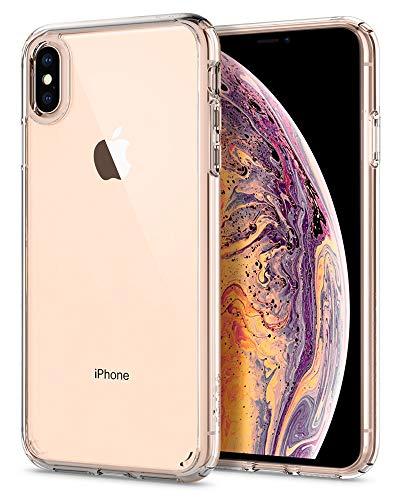 【Spigen】 スマホケース iPhone XS Max ケース 対応 全面クリア 耐衝撃 米軍MIL規格取得 ウルトラ・ハイブリッド 065CS25127 (クリスタル ・クリア)