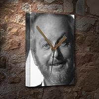 DANIEL STERN - キャンバス時計(A5 - アーティストによる署名) #js002