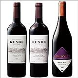My Wine CLUB カリフォルニア&オレゴンの高級赤ワイン贅沢飲み比べ3本セット 750ml×3本