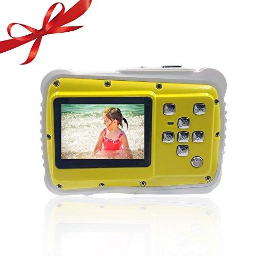 OSEI 子供用デジタルカメラ かわいい 子どもカメラ 子供プレゼント 操作簡単 高画素 3m防水機...