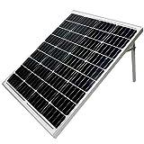 @NSS ソーラーパネル 100W 小型 高変換効率 18V 自立スタンド MC4延長ケーブル アメリカメーカーセル 単結晶シリコンパネル 太陽光発電 ソーラーチャージャー 非常用電源 防災用品