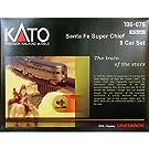 ■【カトー】ラウンドハウス サンタ・フェ スーパーチーフ 8両セット(1106-076)KATO 外国形モデル Nゲージ