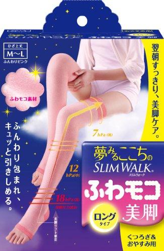夢みるここちのスリムウォーク ふわモコ美脚 ロングタイプ M-Lサイズ ふんわりピンク [2012年モデル]