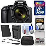 Best ニコン1080カメラ - Nikon Coolpix p900Wi - Fi 83xズームデジタルカメラwith 32GBカード+バッテリー&充電器+ケース+スリングストラップ+キット Review