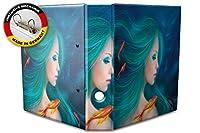 バインダー 2 Ring Binder Lever Arch Folder A4 printed Mermaid