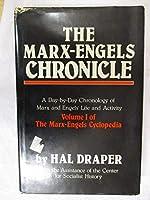 MARX-ENGELS CHRONICLE (Marx-Engels Cyclopedia, Vol 1)