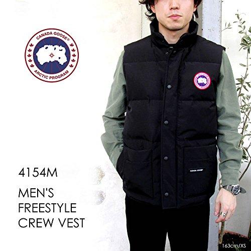 [カナダグース] CANADA GOOSE MEN'S FREESTYLE CREW VEST #4154M メンズ ダウンジャケット〔SF〕