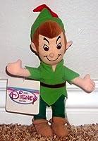 """Rare Retired Disney Peter Pan 10"""" Plush Bean Bag Doll [並行輸入品]"""