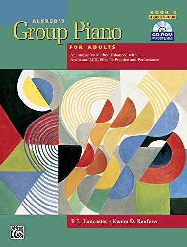 『Alfred's Group Piano for Adults: Book 2』のトップ画像