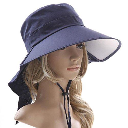 日よけ帽子 ハット シェードハット 旅行ハット 紫外線対策 帽子 つば広ハット ...