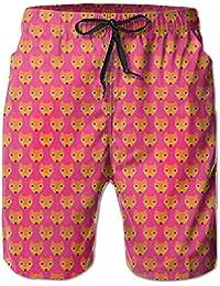 キツネの面 メンズ サーフパンツ 水陸両用 水着 海パン ビーチパンツ 短パン ショーツ ショートパンツ 大きいサイズ ハワイ風 アロハ 大人気 おしゃれ 通気 速乾