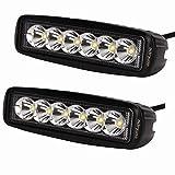 senlips jp 2x18W 狭角 タイプ 2個セット LED作業灯「10V-30V」DC 防水規格IP67暗闇での作業灯・倉庫内作業車・除雪車・フォークリフト・ユニック車等に最適