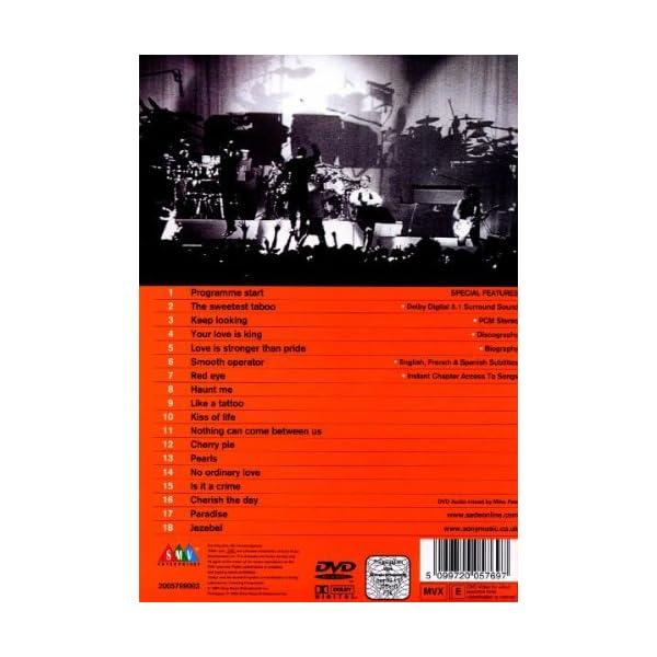 Sade Live [DVD] [Import]の紹介画像2