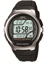 [カシオ]CASIO 腕時計 WAVE CEPTOR ウェーブセプター 電波時計 MULTI BAND5 デジタルモデル WV-58J-1AJF メンズ