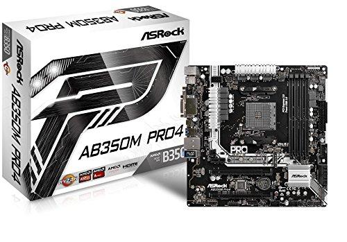 ASROCK AMD B350チップセット搭載 ATXマザーボード AB350M Pro4 B06X9LN3QK 1枚目