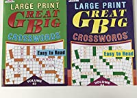 Kappa Large印刷Great Big word-findsのセット2ボリューム84、85by Stuff & etc。