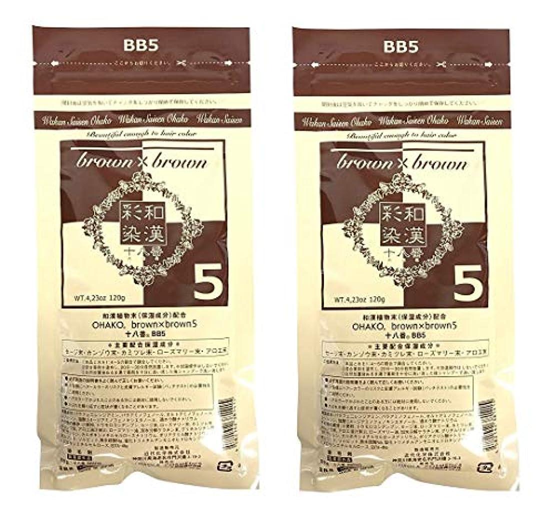 フレッシュパパ【2個セット】グランデックス 和漢彩染 十八番 120g BB5