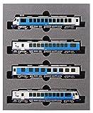 KATO Nゲージ HB-E300系 リゾートしらかみ 青池編成 4両セット 10-1367 鉄道模型 ディーゼルカー