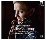 モーツァルト : ヴァイオリン協奏曲全集 (Wolfgang Amadeus Mozart : Violin Concertos / Isabelle Faust (violin) | Il Giardino Armonico | Giovanni Antonini) [2SACDシングルレイヤー] [国内プレス] [限定盤] [日本語帯・解説付]